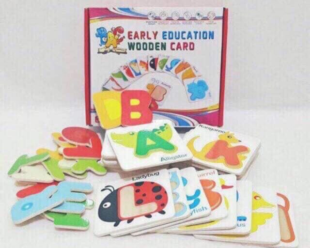 Early Education Wooden Card